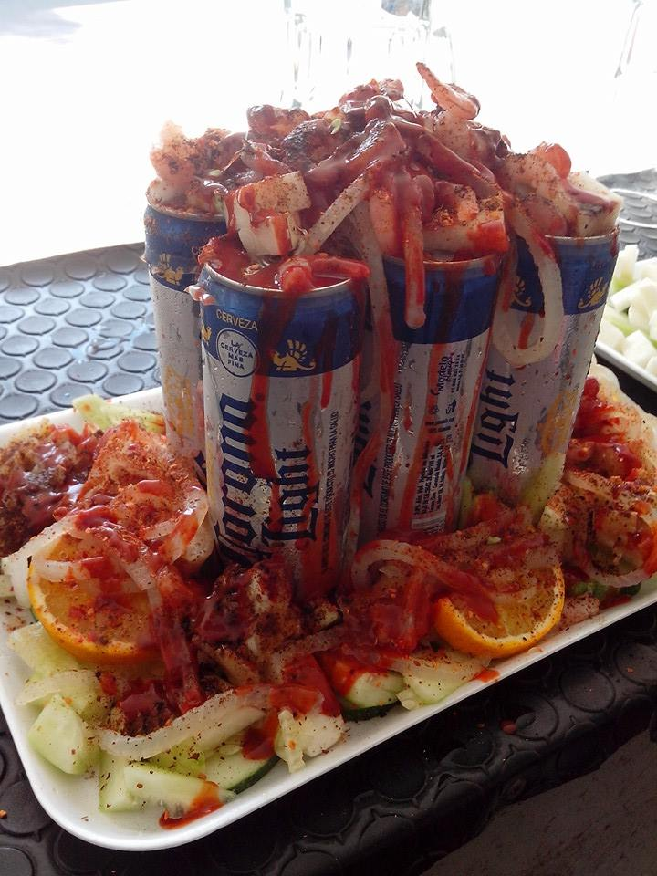 Beer and seafood