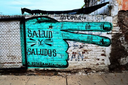 Culiacán graffiti by 'Taqhero'