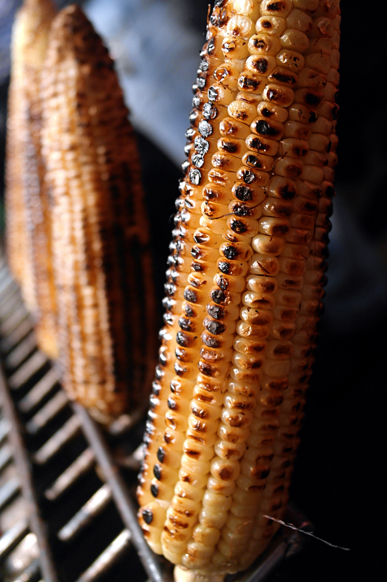 corn on the cob on the embers are two main types of corn the yellow ...