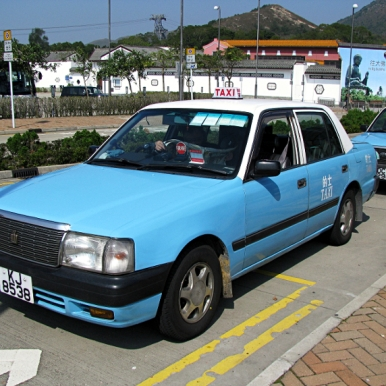 Lantau Island taxi