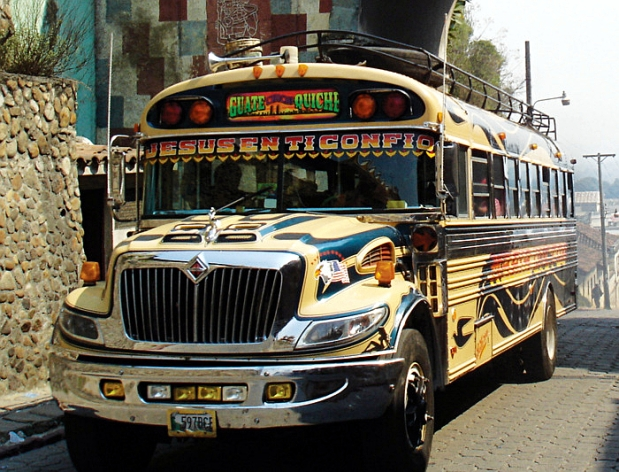 mexico local bus
