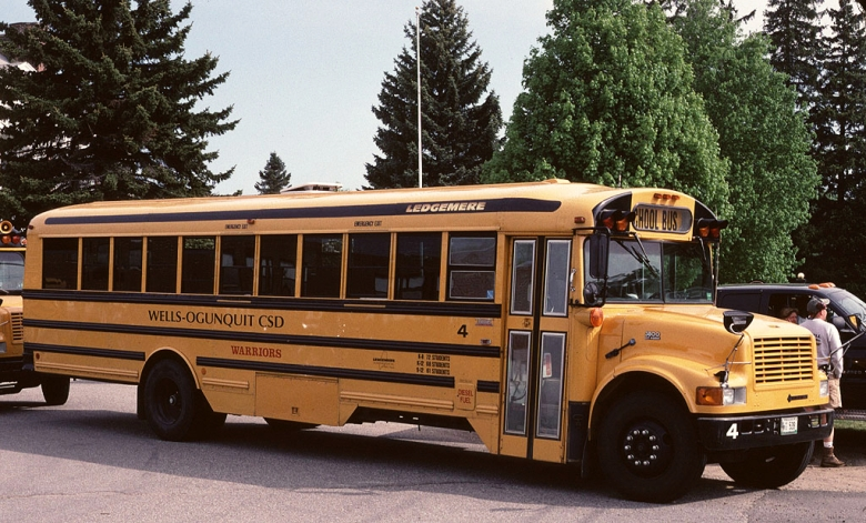 School Bus - Thomas Ledgemere